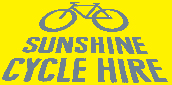 Sunshine Cycle Hire logo